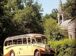 Vintage bus for weddings in Portsmouth
